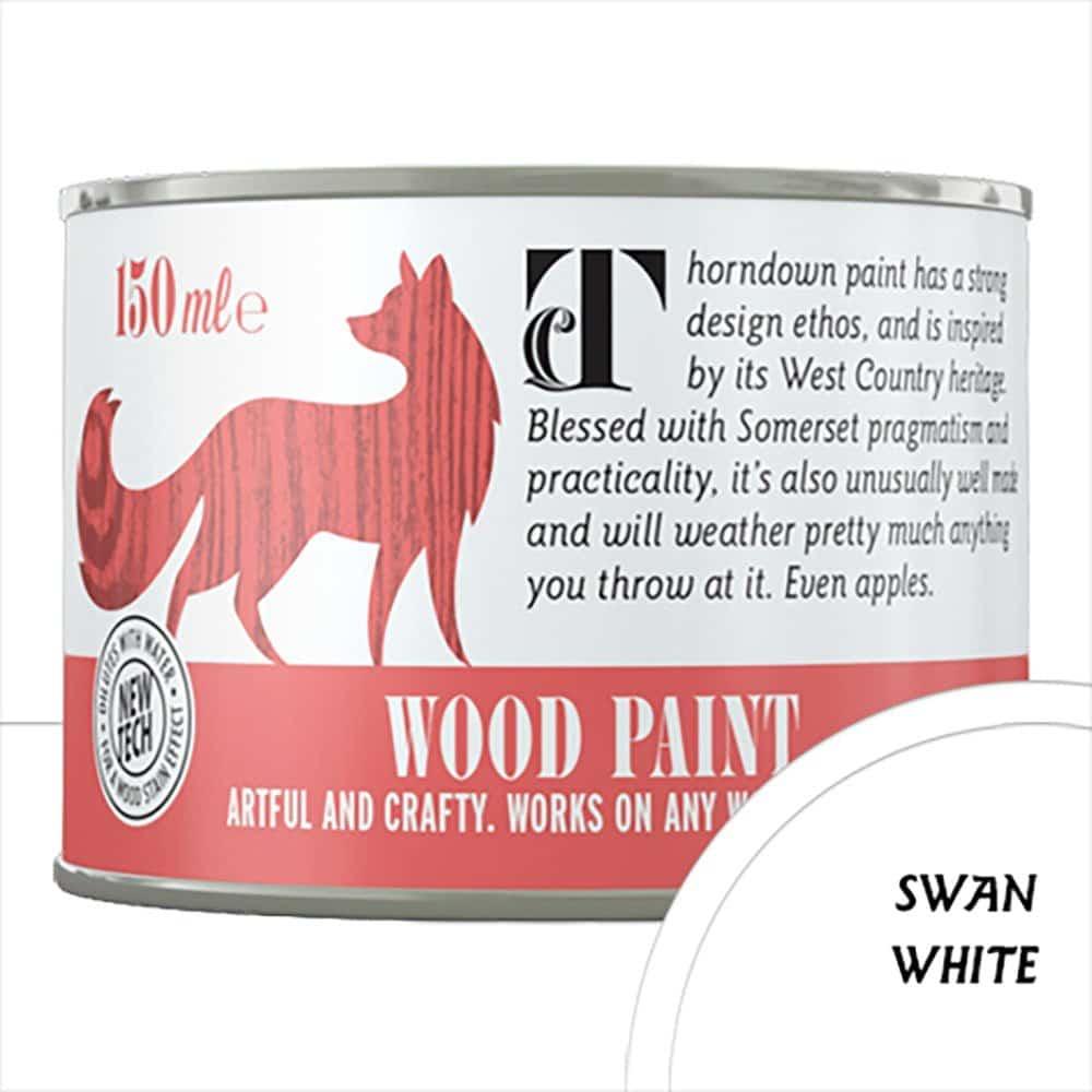 Thorndown Swan-White Wood Paint_150