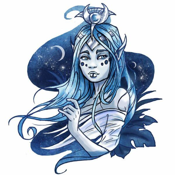 Elf-Blue