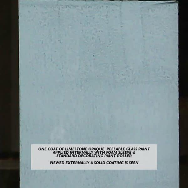 Limestone-Peelable-Glass-Paint-viewed-externally