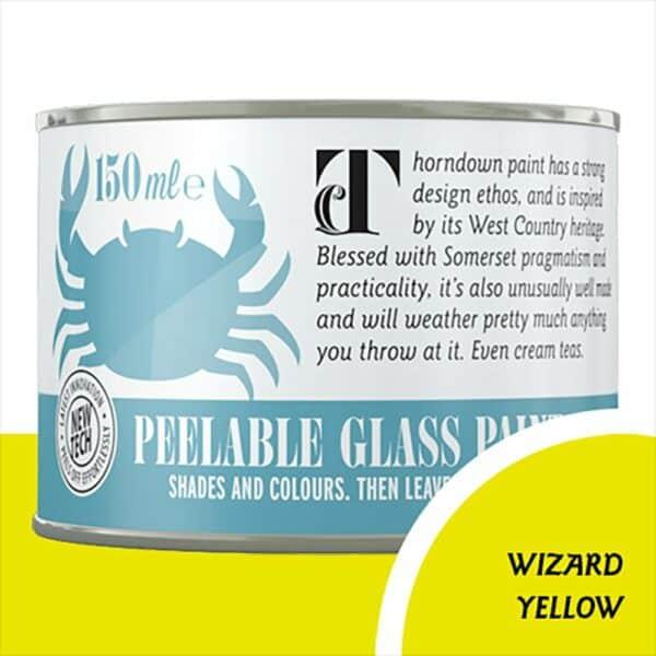Thorndown GlassPaint_150_Wizard-Yellow