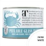 Thorndown Peelable Glass Paint_150_Swan-White