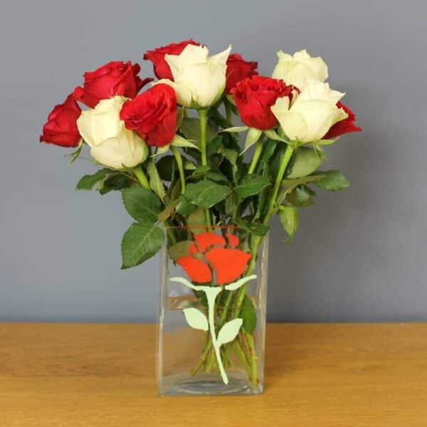 Thondown-Peelable-Glass-Paint-Dragon-Red-Rose-vase
