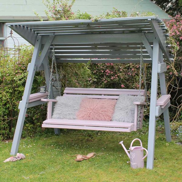 Thorndown-Lead-Grey-and-Rock-Rose-Wood-Paint-on-Zest-Miami-Swing-Seat_3