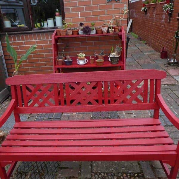 Thorndown-Rowan-Berry-Red-wood-paint-garden-furniture