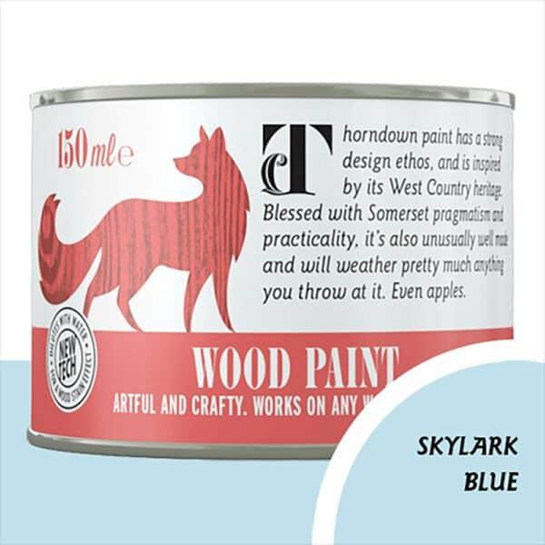 Thorndown_Skylark-Blue Wood Paint_150