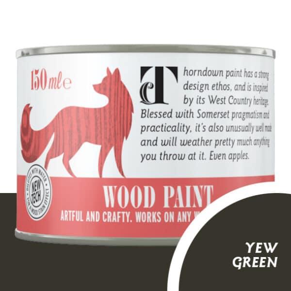 Thorndown_Yew_Green_Wood Paint_150ml