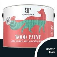 Bishop Blue Wood Paint Tin 2.5 litre Thorndown