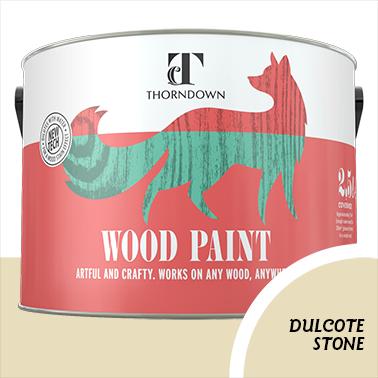 Dulcote Stone Wood Paint Tin 2.5 litre Thorndown