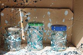 Splatter Glass Paint Box