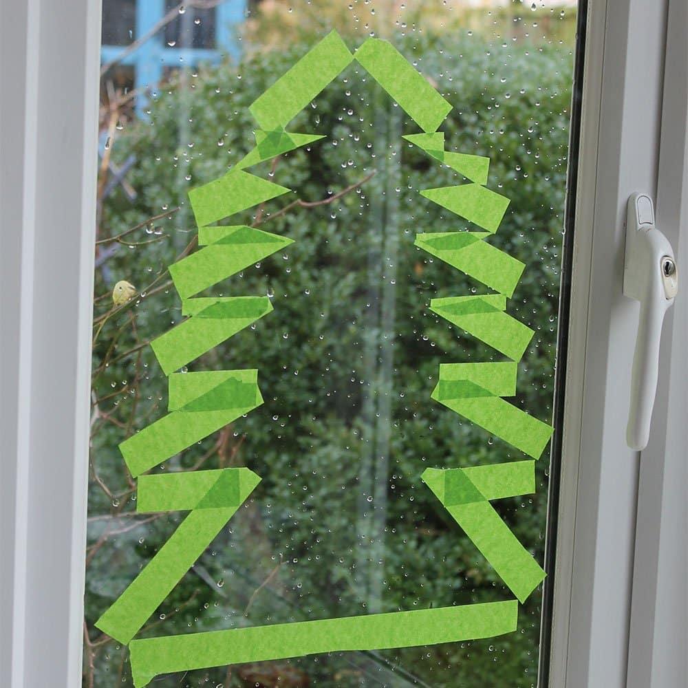 Xmas-tree-tape-outline