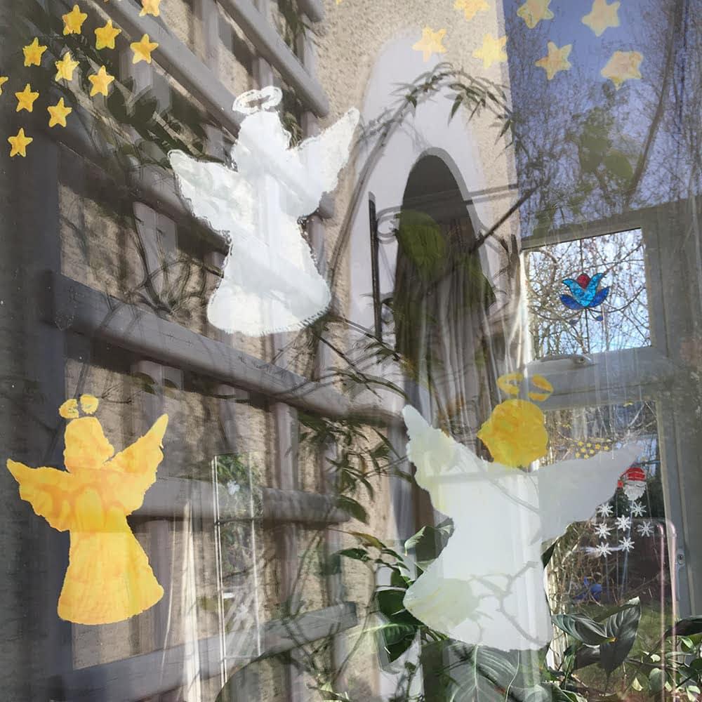 Peelable Glass Paint Angels