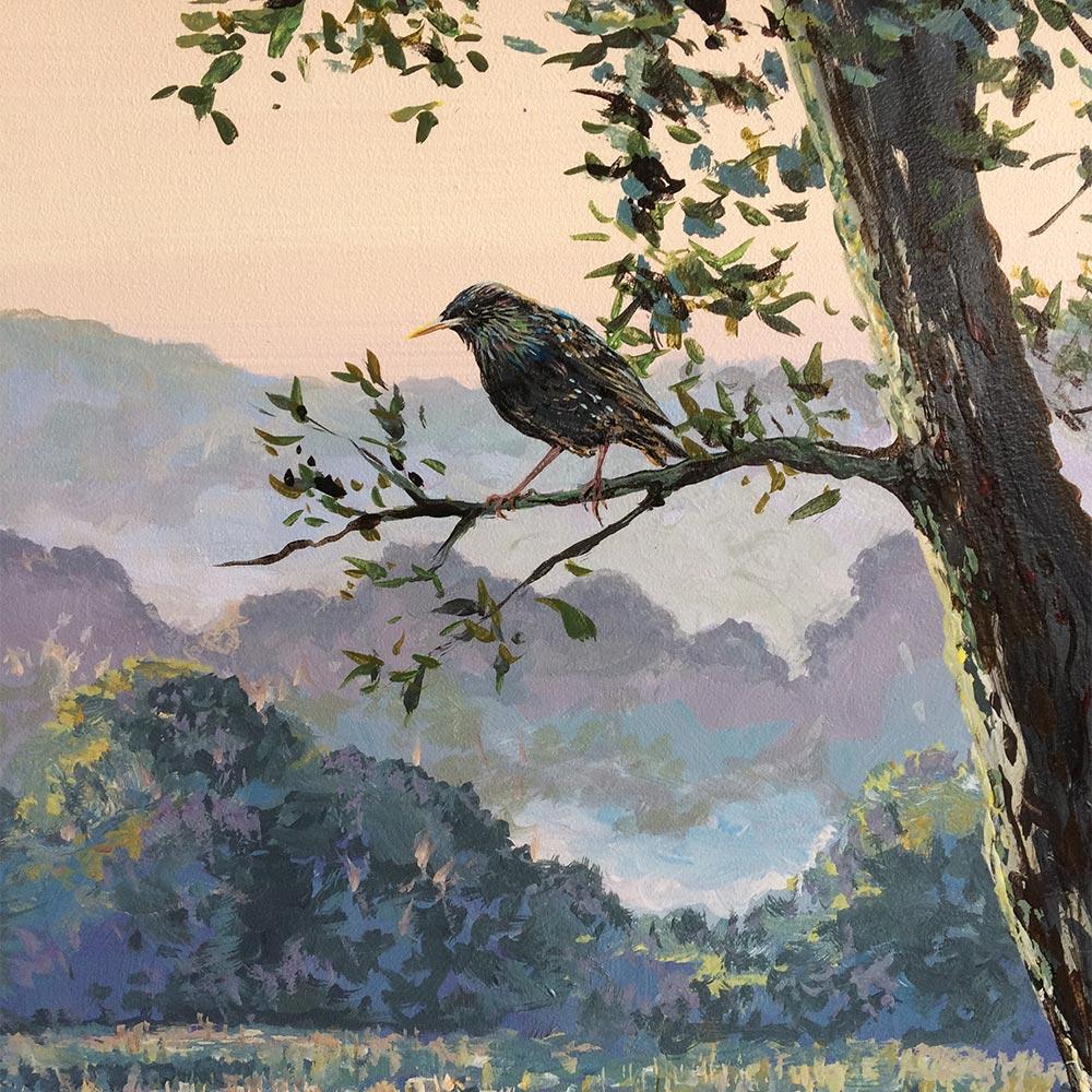 Starling-in-Jonathan-Minshull-mural