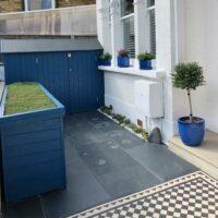 Thorndown-Bilberry-Blue-Wood-Paint-bike-&-log-store