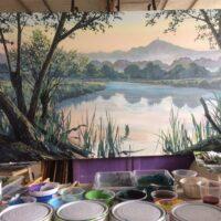 creating-the-glastonbury-mural-trail-mural