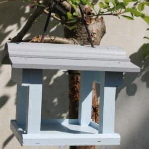Thorndown-Skylark-Blue-and-Lead-Grey-wood-paint-bird-feeder