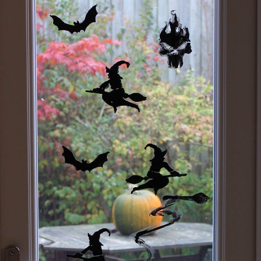 Thorndown Peelable Glass Paint-Bat-Black-french-door