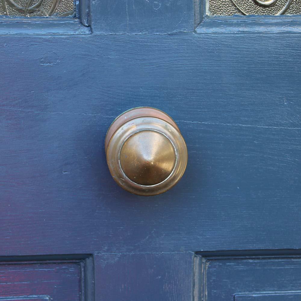 Bishop-Blue-Wood-Paint-with-brass-knob