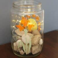 Golden-Floral-flowers-light-jar