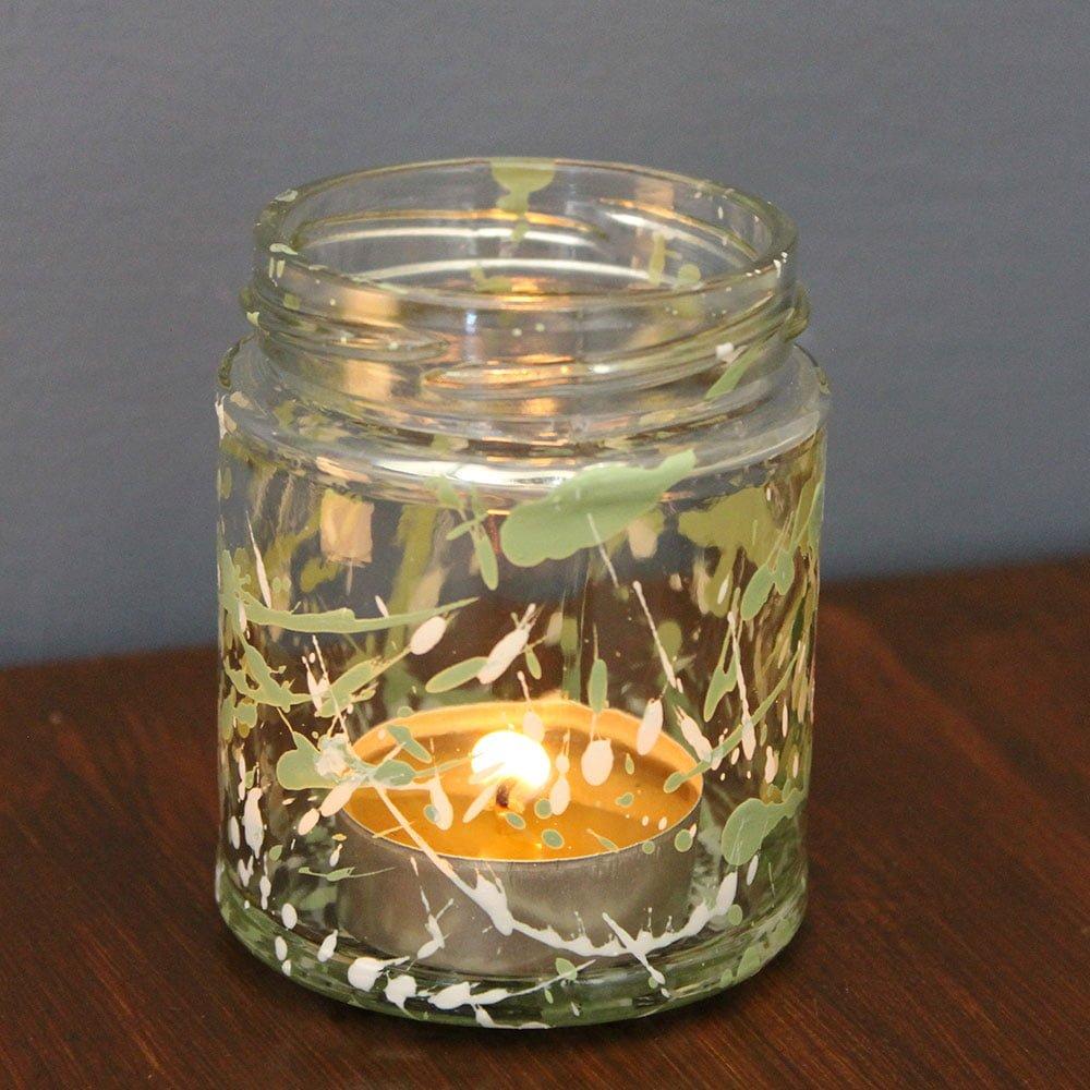 Green-Hairstreak-and-Sedge-Green-tea-light-jar