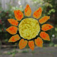 Ogre-Orange-and-Wizard-Yellow-Sunflower-stencil