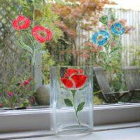 Peelable-Glass-Paint-Summer-Floral