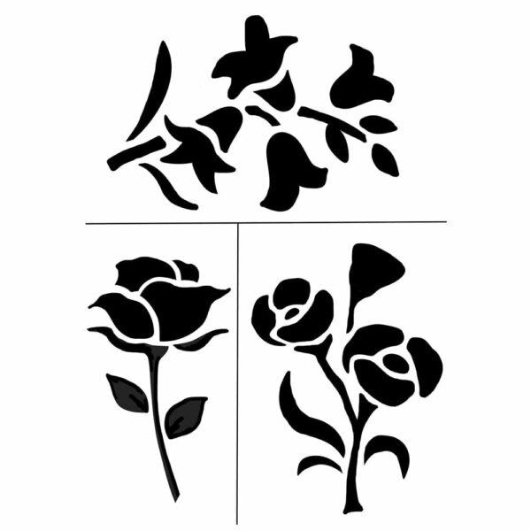 Summer-Floral-Stencil-Craft-Pack