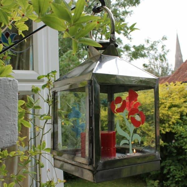 Summer-Floral-stencils-on-hanging-lantern