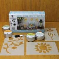 Thorndown-Golden-Floral-Stencil-Craft-Pack