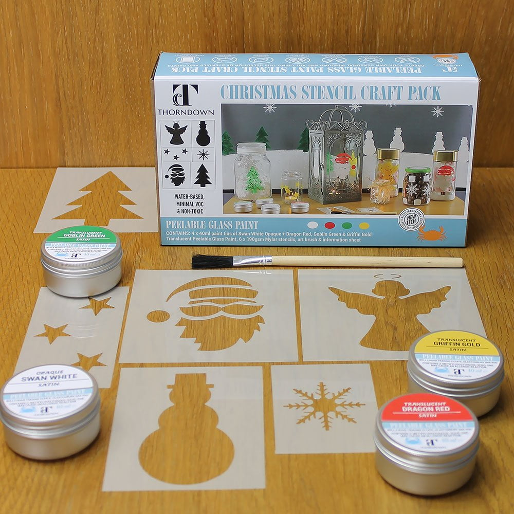 Thorndown-Peelable-Glass-Paint-Christmas-Edition-Stencil-Pack