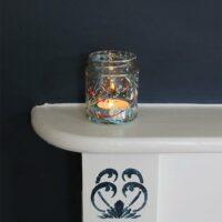 Thorndown-Peelable-Glass-Paint-Summer-Floral-splatter-jam-jar-tea-light