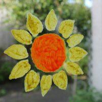 Wizard-Yellow-and-Ogre-Orange-Sunflower-stencil