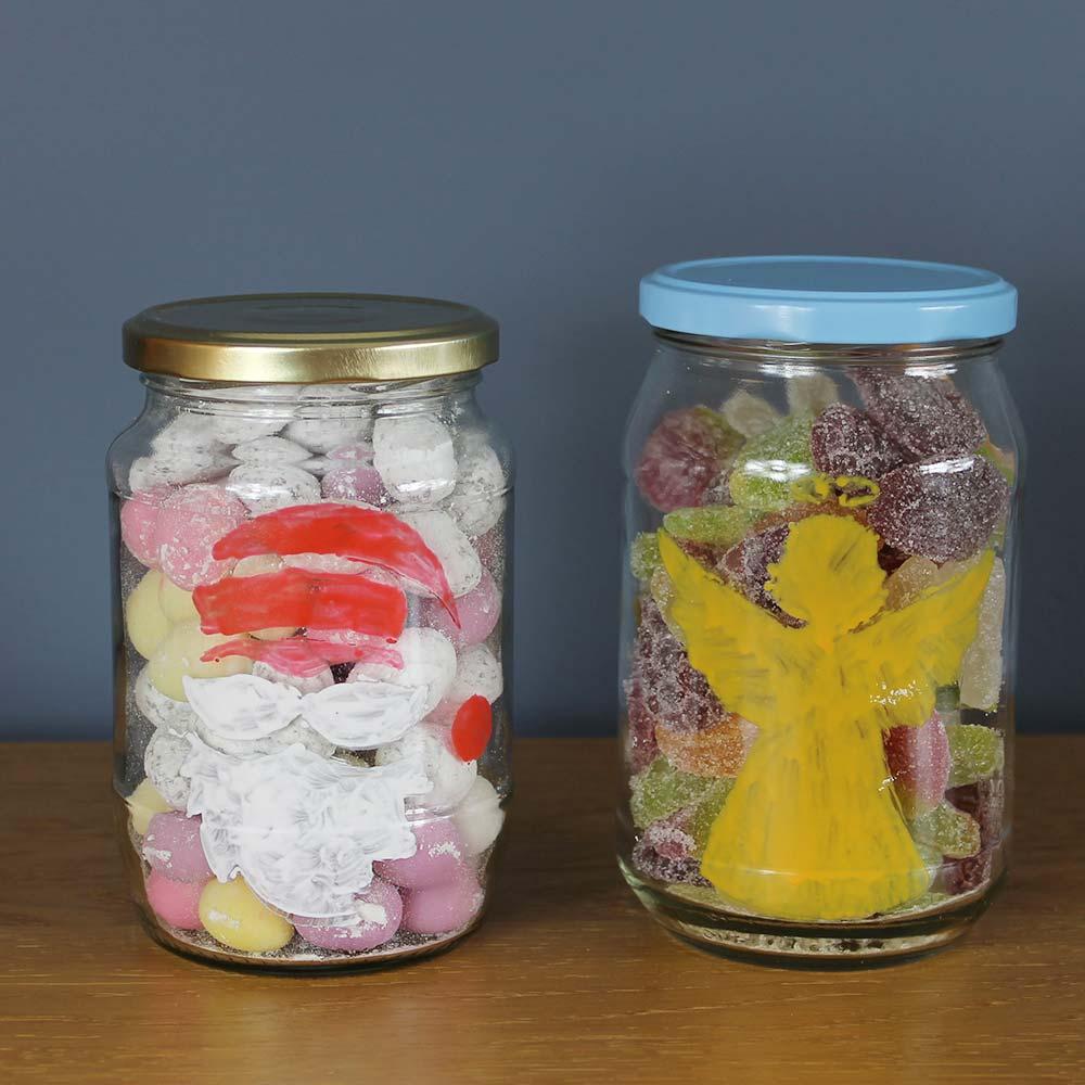 Christmas-treat-jars-with-Thorndown-Peelable-Glass-Paint-stencils