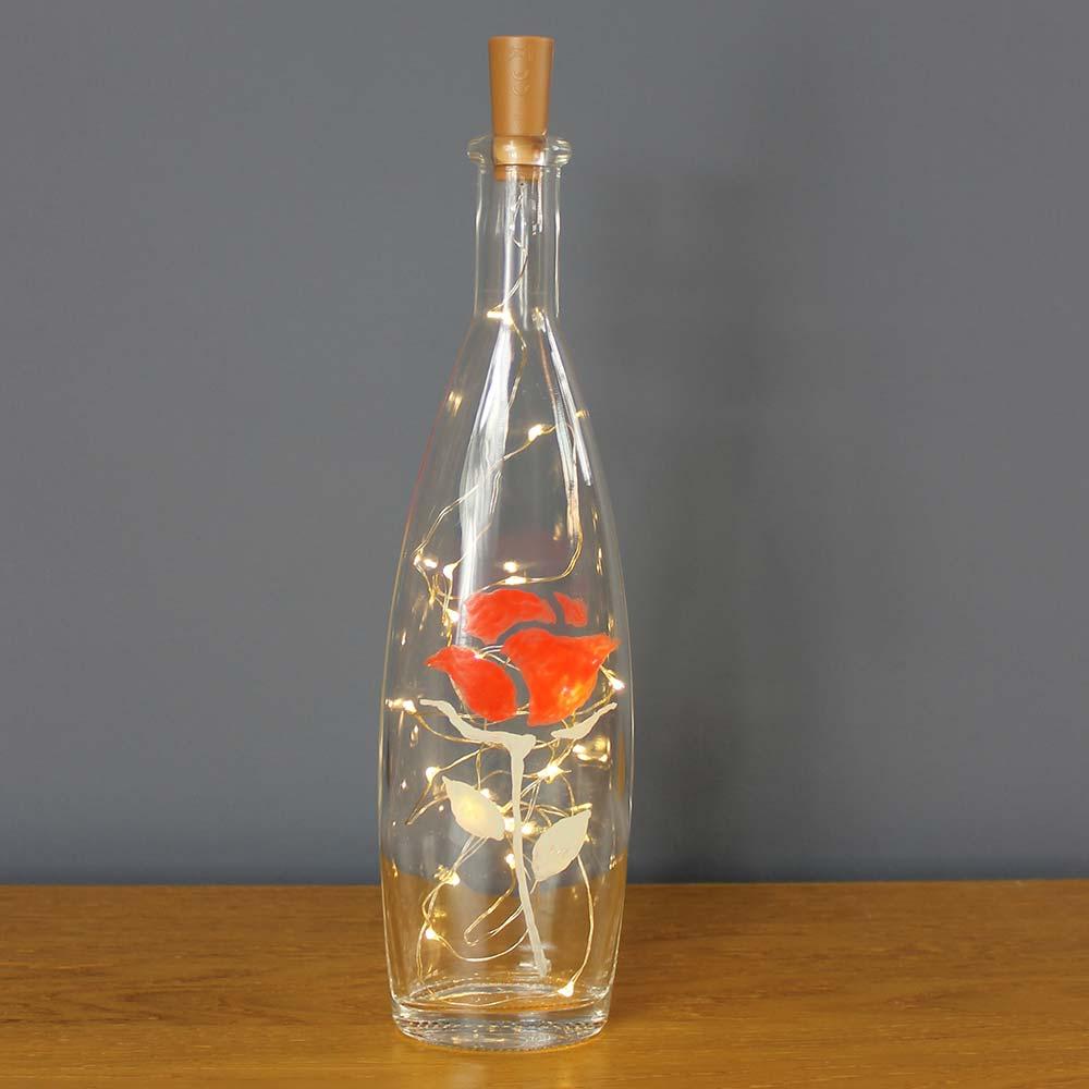 Rose-bottle-light