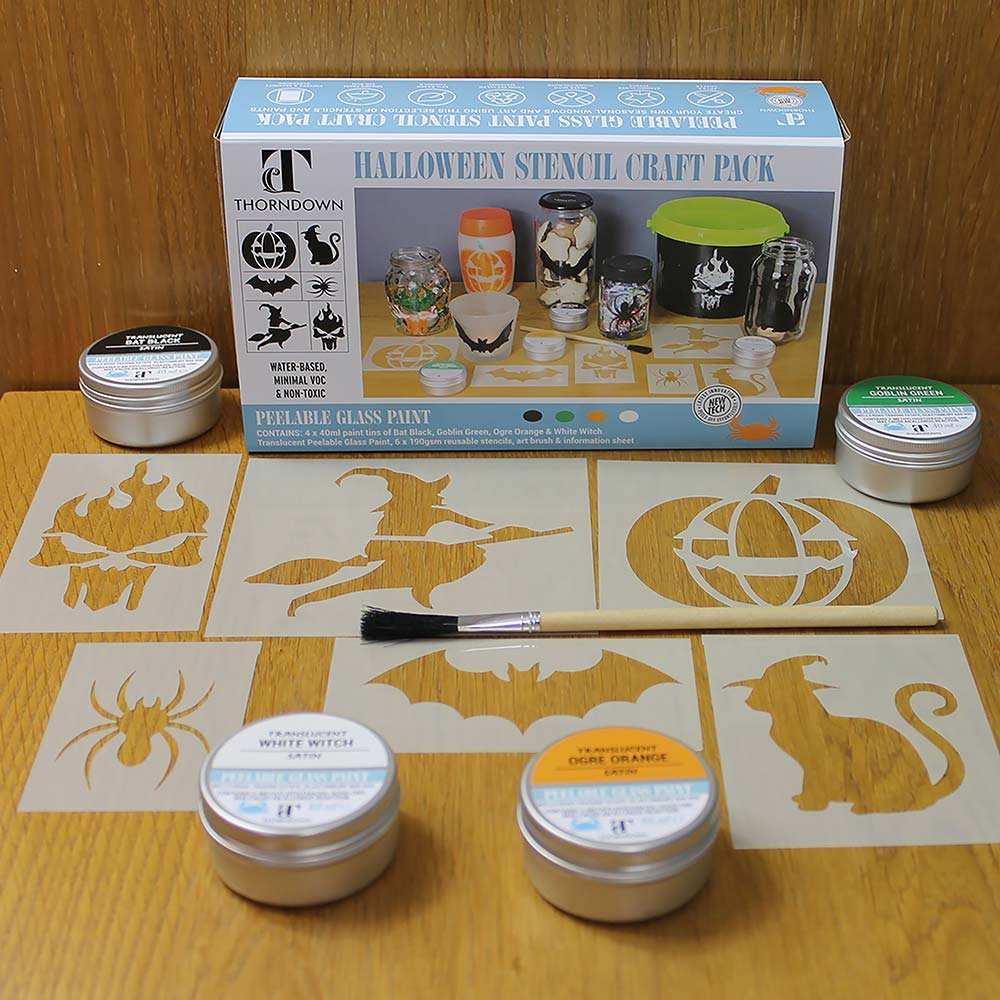 Thorndown-Halloween-Stencil-Craft-Pack