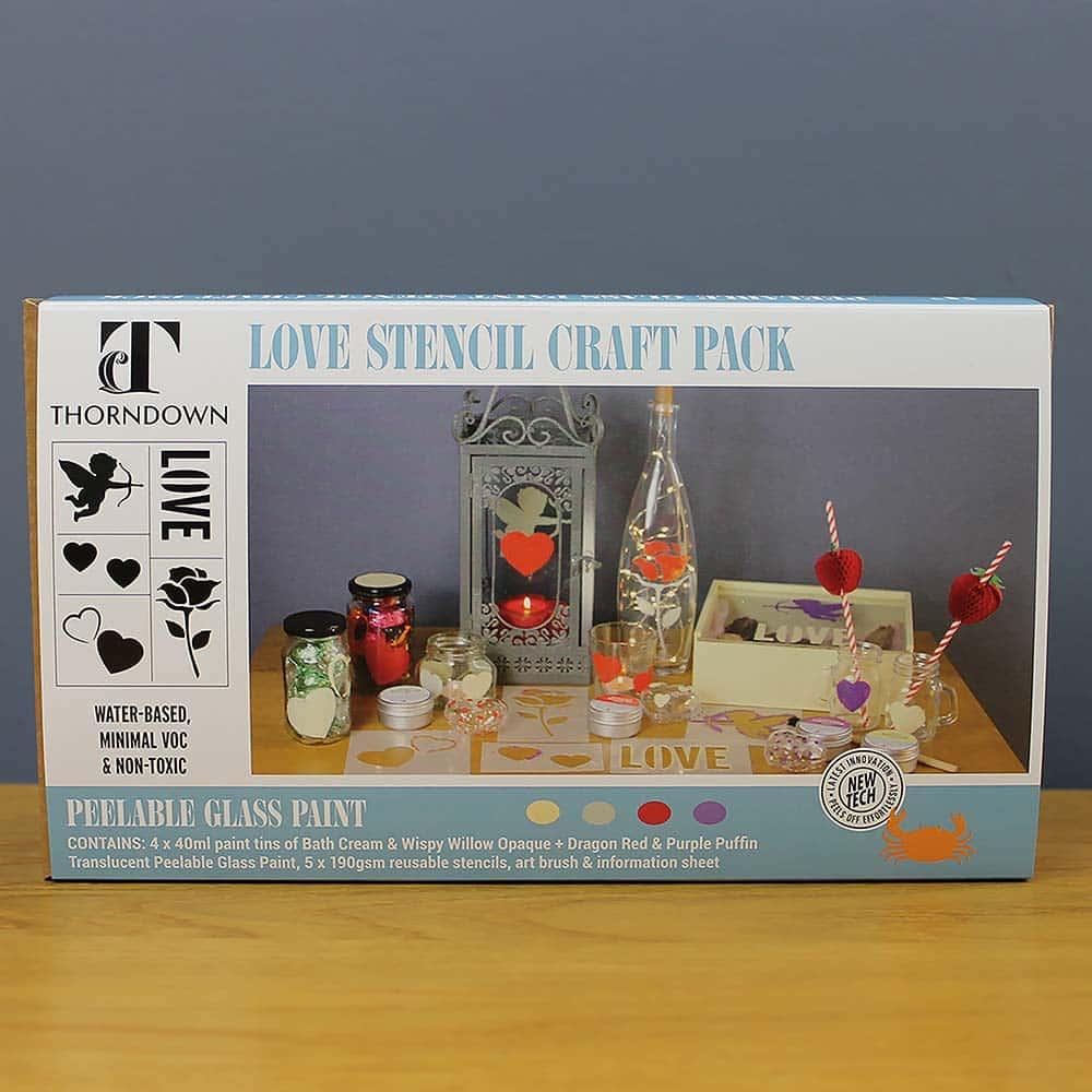 Thorndown-Love-Stencil-Craft-Pack-box