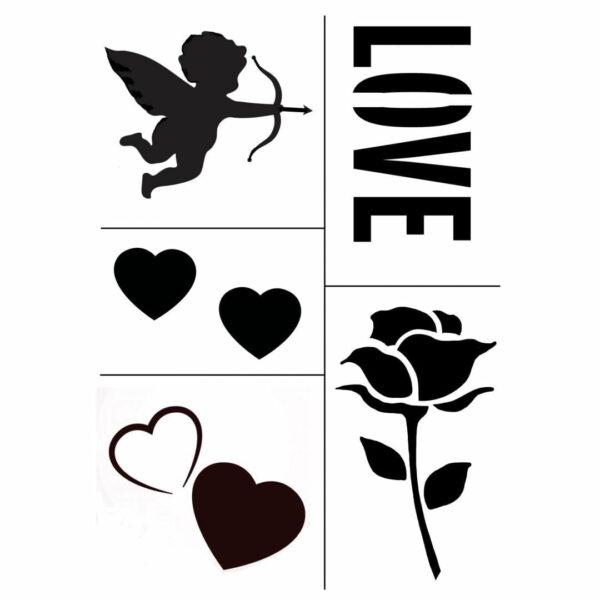 Thorndown Love Stencils