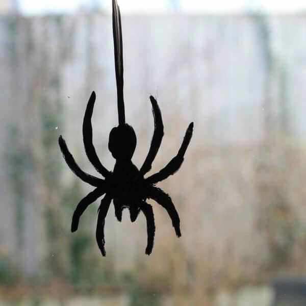 Thorndown-Peelable-Glass-Paint-Halloween-Bat-Black-Spider-Stencil
