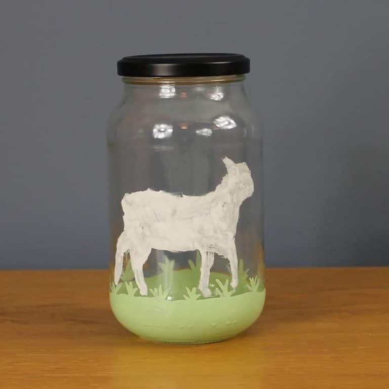 Thorndown-Peelable-Glass-Paint-Lamb-jar