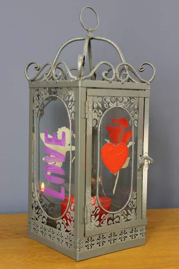 Thorndown-Peelable-Glass-Paint-Love-Stencil-Craft-Pack-Lantern