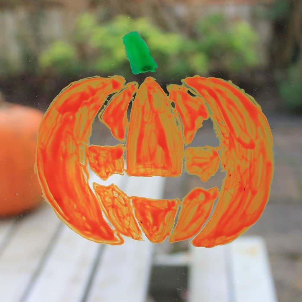Thorndown-Peelable-Glass-Paint-Ogre-Orange-Halloween-Pumpkin-stencil