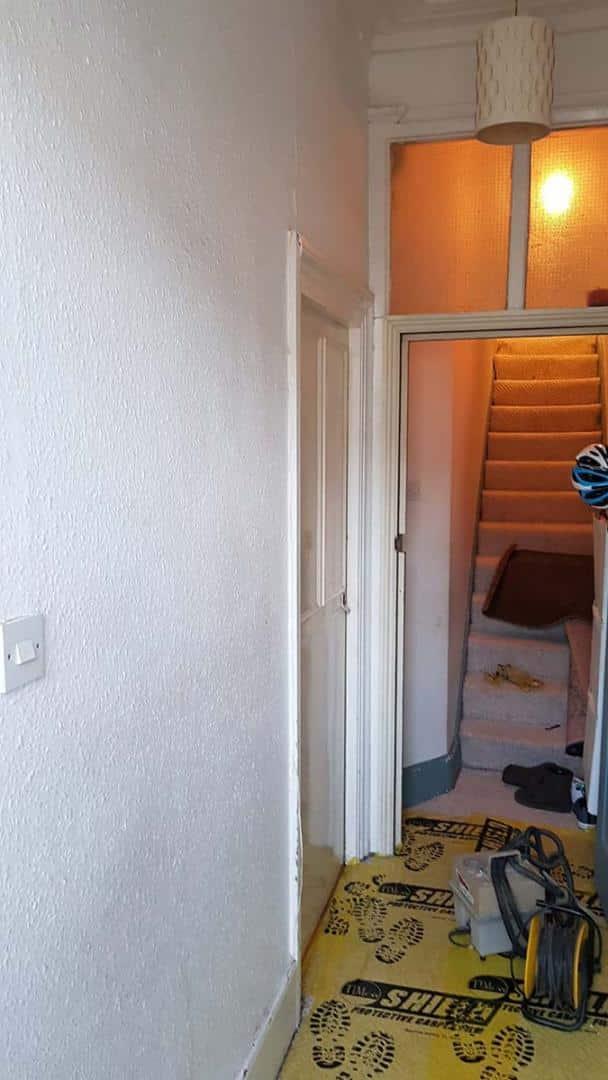 Hallway-before