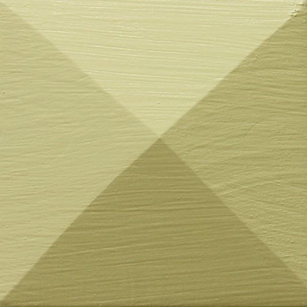 Thorndown-Rhyne-Green-Wood-Paint-painted-pyramid