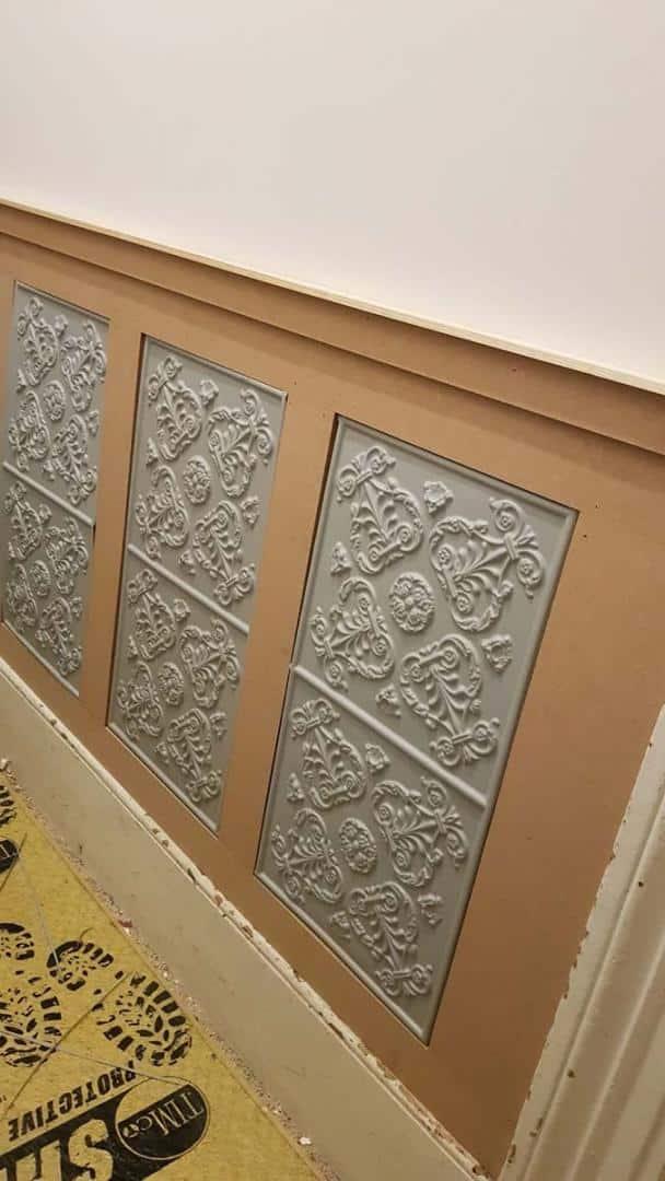 Tiles-on-hallway-panels