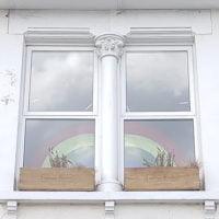 Rainbow-windows
