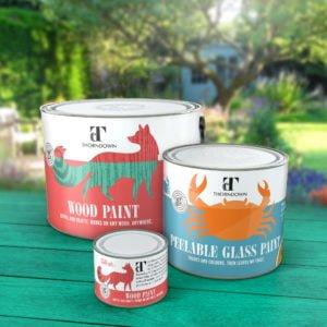 Thorndown Paint Tins